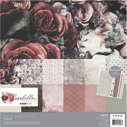 Kaisercraft - Rosabella Collection - 12 x 12 Paper Pack