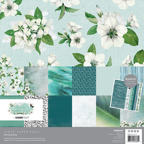 Kaisercraft - Morning Dew Collection - 12 x 12 Paper Pack