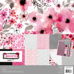 Kaisercraft - Magenta Collection - 12 x 12 Paper Pack