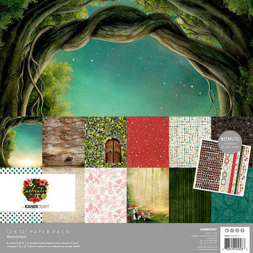 Kaisercraft - Enchanted Collection - 12 x 12 Paper Pack
