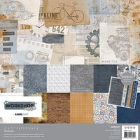 Kaisercraft - Workshop Collection - 12 x 12 Paper Pack