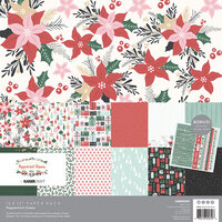 Kaisercraft - Christmas - Peppermint Kisses Collection - 12 x 12 Paper Pack