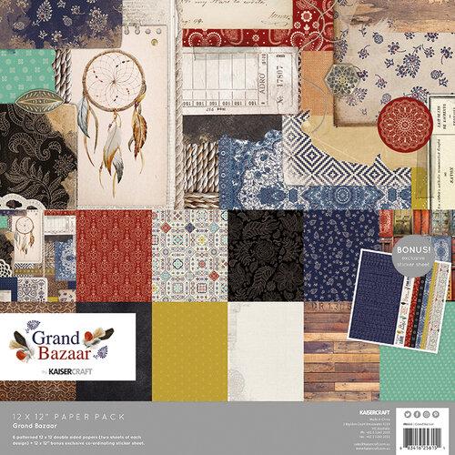 Kaisercraft - Grand Bazaar Collection - 12 x 12 Paper Pack
