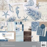 Kaisercraft - Coastline Collection - 12 x 12 Paper Pack