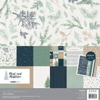 Kaisercraft - Mint and Mistletoe Collection - Christmas - 12 x 12 Paper Pack