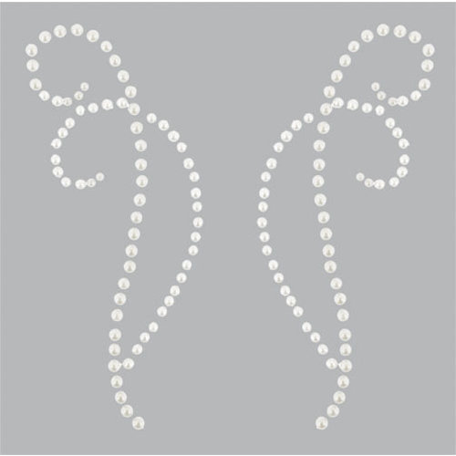 Kaisercraft - Pearl Flourishes - Bling - Decorative - Pearl