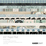 Kaisercraft - Barber Shoppe Collection - 6.5 x 6.5 Paper Pad