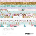 Kaisercraft - Christmas Wishes Collection - 6.5 x 6.5 Paper Pad