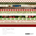 Kaisercraft - Silent Night Collection - Christmas - 6.5 x 6.5 Paper Pad