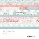 Kaisercraft - Peek-A-Boo Collection - 6.5 x 6.5 Paper Pad