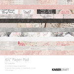 Kaisercraft - P.S. I Love You Collection - 6.5 x 6.5 Paper Pad