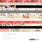Kaisercraft - Hanami Garden Collection - 6.5 x 6.5 Paper Pad