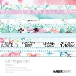 Kaisercraft - Wildflower Collection - 6.5 x 6.5 Paper Pad