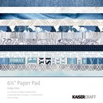 Kaisercraft - Indigo Skies Collection - 6.5 x 6.5 Paper Pad