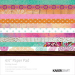 Kaisercraft - Bombay Sunset Collection - 6.5 x 6.5 Paper Pad