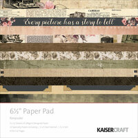 Kaisercraft - Keepsake Collection - 6.5 x 6.5 Paper Pad