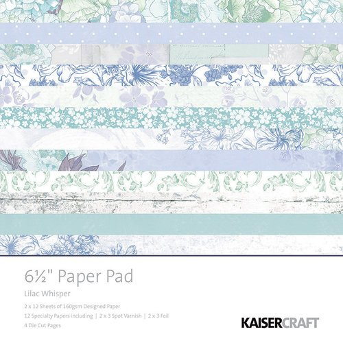 Kaisercraft - Lilac Whisper Collection - 6.5 x 6.5 Paper Pad