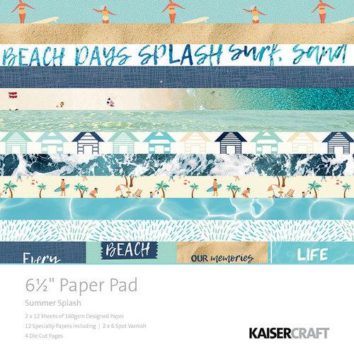 Kaisercraft - Summer Splash Collection - 6.5 x 6.5 Paper Pad