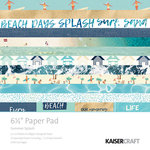 Kaisercraft - Summer Splash Collection - 6.5 x 6.5 Paper Pad