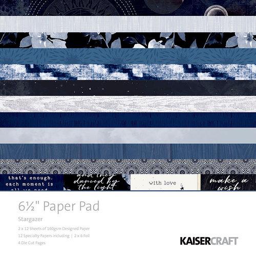 Kaisercraft - Stargazer Collection - 6.5 x 6.5 Paper Pad