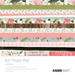 Kaisercraft - Full Bloom Collection - 6.5 x 6.5 Paper Pad