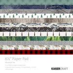 Kaisercraft - Mountain Air Collection - 6.5 x 6.5 Paper Pad