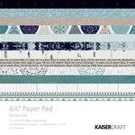 Kaisercraft - Wonderland Collection - Christmas - 6.5 x 6.5 Paper Pad