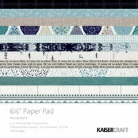 Kaisercraft - Wonderland Collection - Christmas - 6.5 x 6.5 Paper Pad