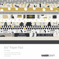 Kaisercraft - First Noel Collection - Christmas - 6.5 x 6.5 Paper Pad