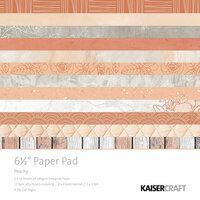 Kaisercraft - Peachy Collection - 6.5 x 6.5 Paper Pad