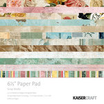 Kaisercraft - Scrap Studio Collection - 6.5 x 6.5 Paper Pad