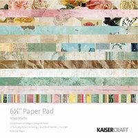 Kaisercraft - Scrap Studio Collection - 6.5 x 6.5 Paper Pad