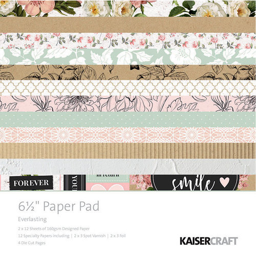 Kaisercraft - Everlasting Collection - 6.5 x 6.5 Paper Pad