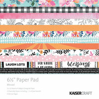 Kaisercraft - Blessed Collection - 6.5 x 6.5 Paper Pad