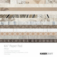 Kaisercraft - Whisper Collection - 6.5 x 6.5 Paper Pad