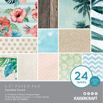 Kaisercraft - Paradise Found Collection - 6.5 x 6.5 Paper Pad