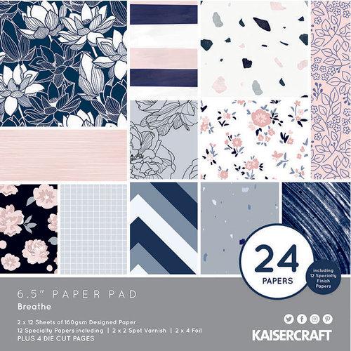 Kaisercraft - Breathe Collection - 6.5 x 6.5 Paper Pad