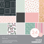 Kaisercraft - With Love Collection - 6.5 x 6.5 Paper Pad