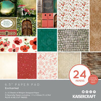 Kaisercraft - Enchanted Collection - 6.5 x 6.5 Paper Pad