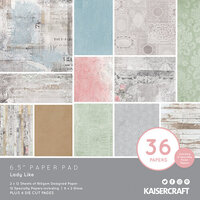Kaisercraft - Lady Like Collection - 6.5 x 6.5 Paper Pad