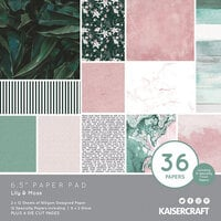 Kaisercraft - Lily and Moss Collection - 6 x 6 Paper Pad