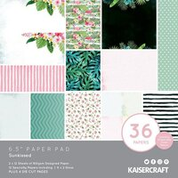 Kaisercraft - Sunkissed Collection - 6.5 x 6.5 Paper Pad
