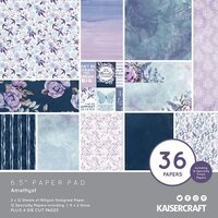 Kaisercraft - Amethyst Collection - 6.5 x 6.5 Paper Pad