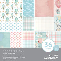 Kaisercraft - Little Treasures Collection - 6.5 x 6.5 Paper Pad