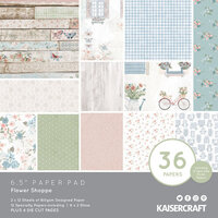 Kaisercraft - Flower Shoppe Collection - 6.5 x 6.5 Paper Pad