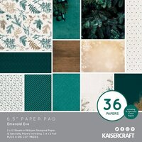 Kaisercraft - Emerald Eve Collection - 6.5 x 6.5 Paper Pad
