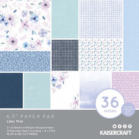 Kaisercraft - Lilac Mist Collection - 6.5 x 6.5 Paper Pad