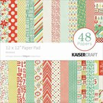 Kaisercraft - Mistletoe Collection - 12 x 12 Paper Pad
