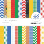 Kaisercraft - 2 Cool 4 School Collection - 12 x 12 Paper Pad