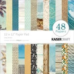 Kaisercraft - Sandy Toes Collection - 12 x 12 Paper Pad - Salty Kisses